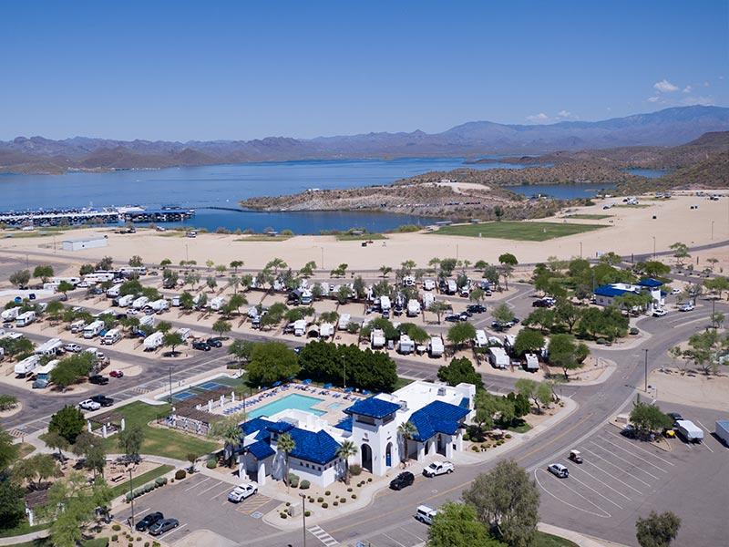 Pleasant Harbor Marina Amp Rv Resort At Lake Pleasant
