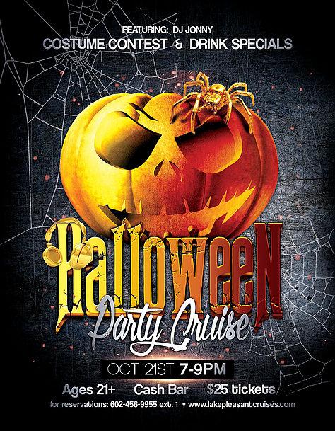 Halloween Party Cruise Pleasant Harbor