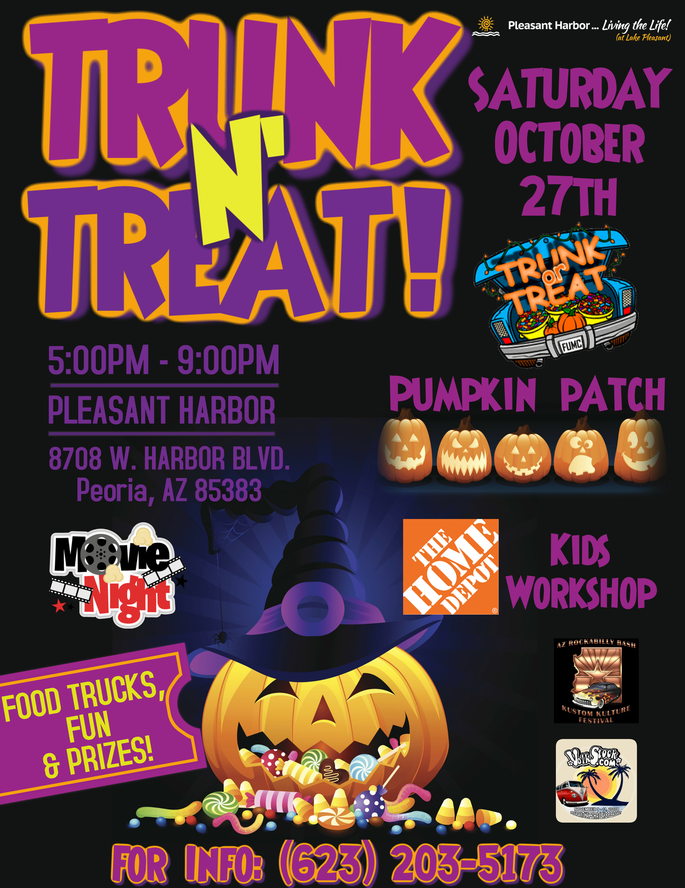 copy of kids halloween flyer template pleasant harbor